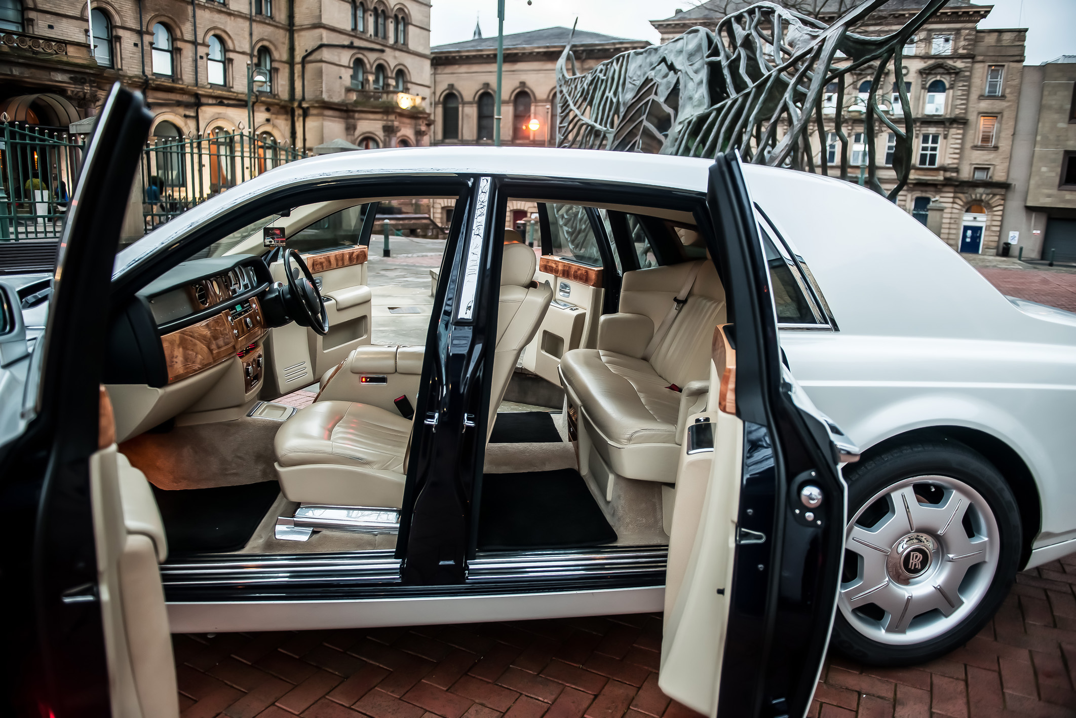 Rolls Royce Phantom Prom Car Hire Bradford